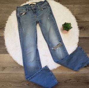 Hollister Distressed Bootcut Jeans